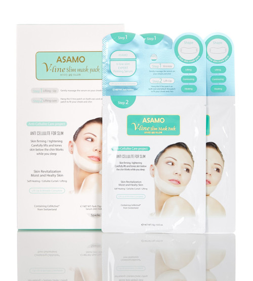 Asamo V-Line Slim Mask Pack