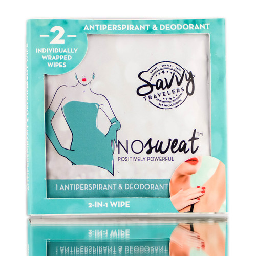 Savvy Travelers NoSweat 2-in1 Antiperspirant