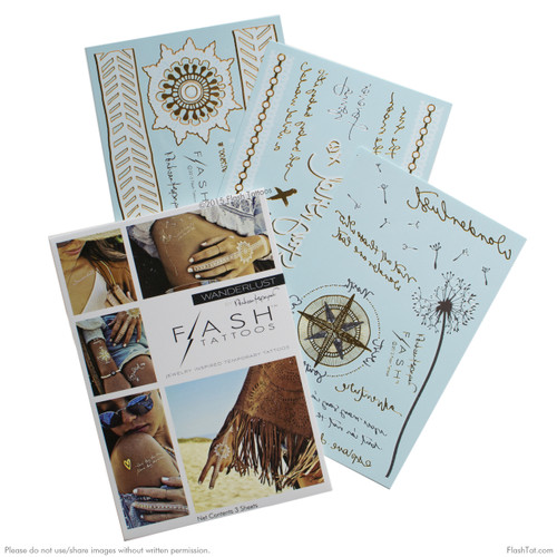 Flash Tattoos - Wanderlust