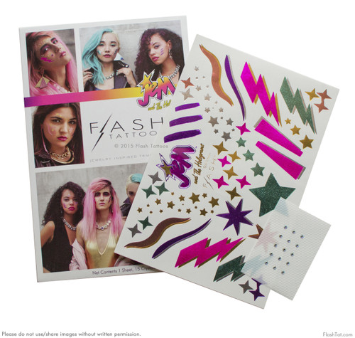 Flash Tattoos - Jem and The Holograms