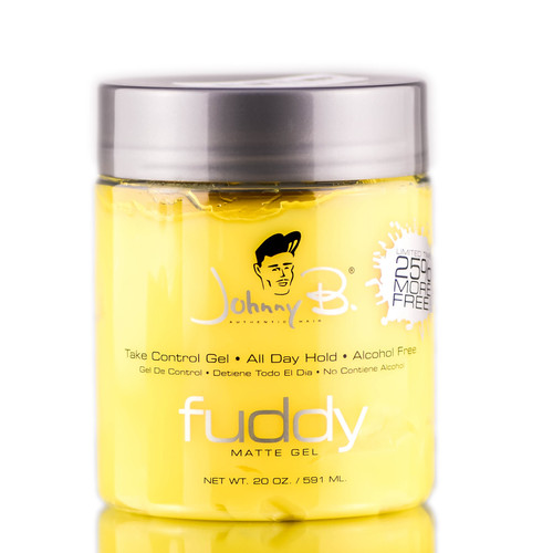 Johnny B Authentic Hair Fuddy Matte Gel