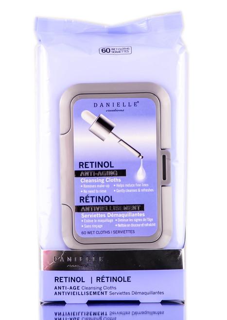 Danielle Creations Retinol Anti-Aging Cleansing Cloths