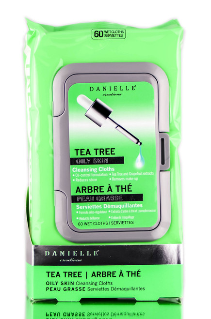 Danielle Creations Tea Tree Oily Skin Cleansing Cloths