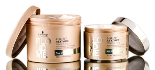 Schwarzkopf Professional BlondMe Keratin Restore Bonding Mask- All Blondes