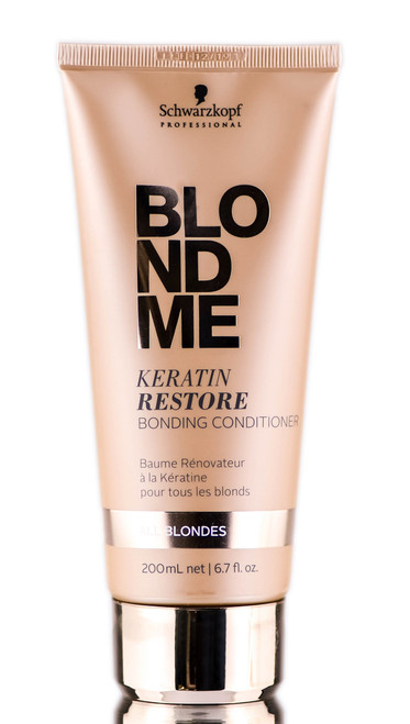 Schwarzkopf Professional BlondMe Keratin Restore Bonding Conditioner- All Blondes
