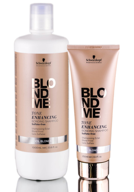 Schwarzkopf Pro BlondMe Tone Enhancing Cool Blonde Bonding Shampoo