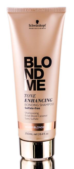 Schwarzkopf Pro BlondMe Tone Enhancing Warm Blonde Bonding Shampoo