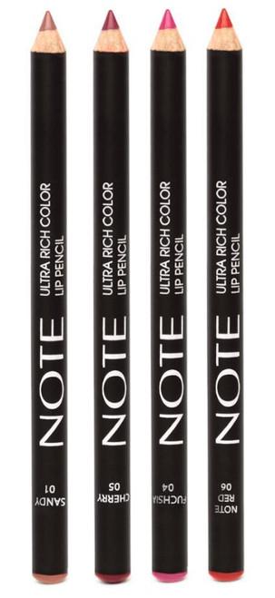 Note Cosmetics Ultra Rich Color Lip Pencil