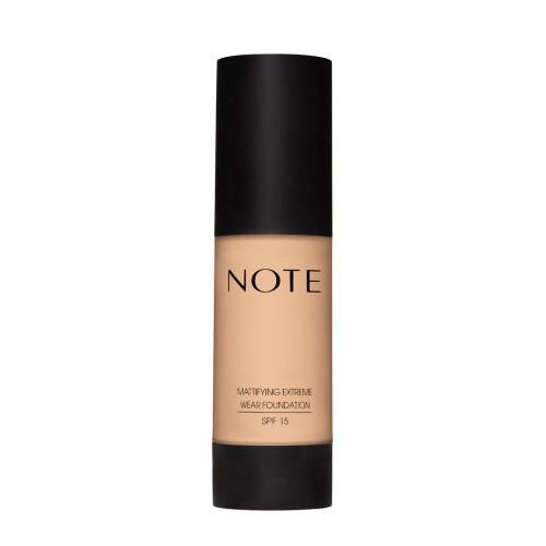 Note Cosmetics Mattifying Extreme Wear Foundation