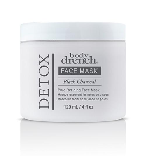 Body Drench Detox Black Charcoal Face Mask