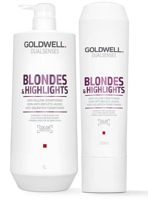 Goldwell Dualsenses Blonde And Highlights Anti-Yellow Conditioner