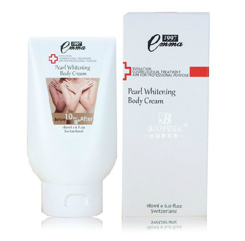 1997 Emma Pearl Whitening Brightening Body Cream