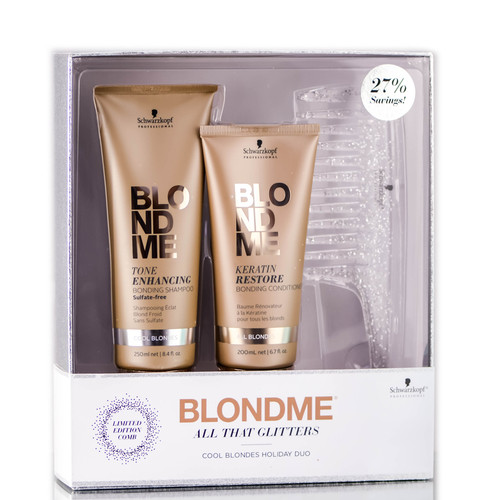 Schwarzkopf Professionals Blondme All That Glitters Cool Blondes Holiday Duo