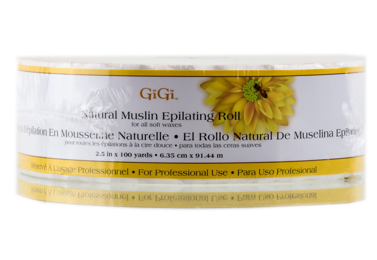 GiGi Natural Muslin Epilating Roll 073930064503