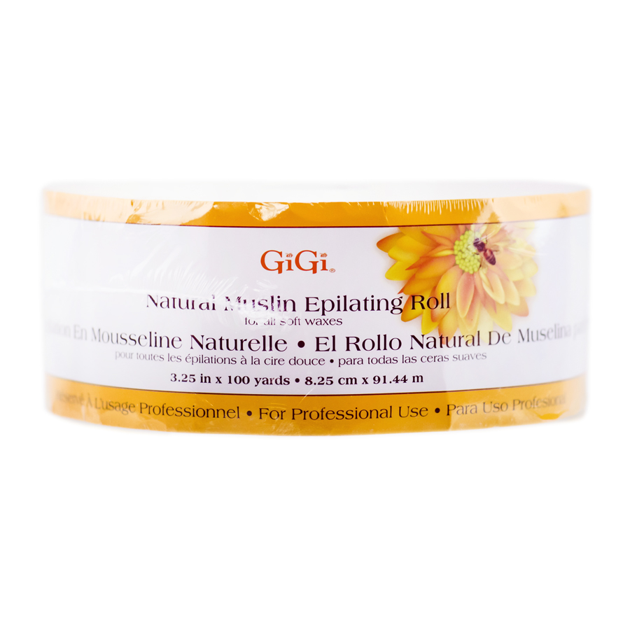 GiGi Natural Muslin Epilating Roll 073930006282