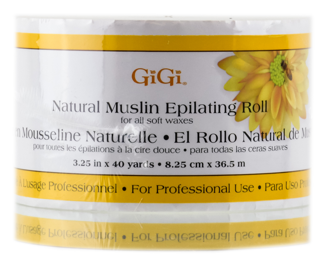 GiGi Natural Muslin Epilating Roll 073930062004