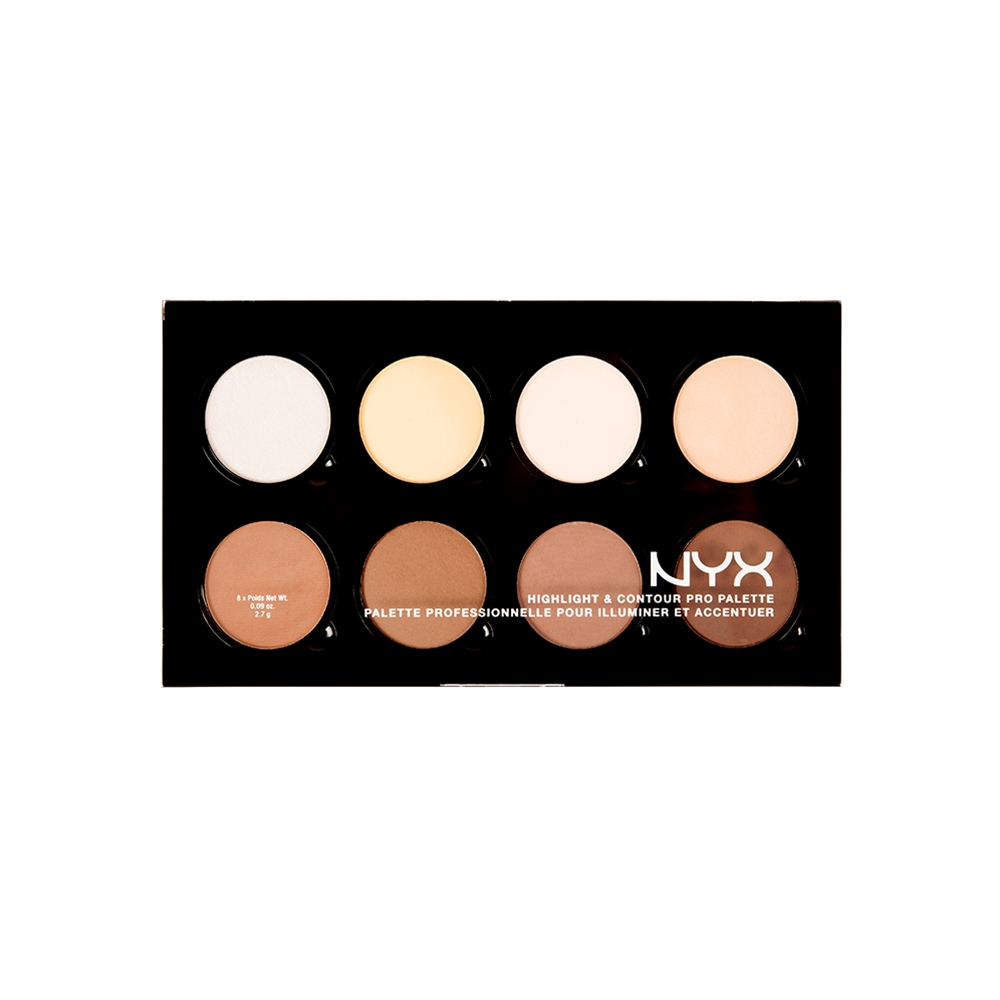 NYX Highlight & Contour Pro Palette 800897836245