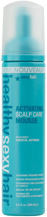 Healthy Sexy Hair Activating Scalp Care Mousse 646630011155