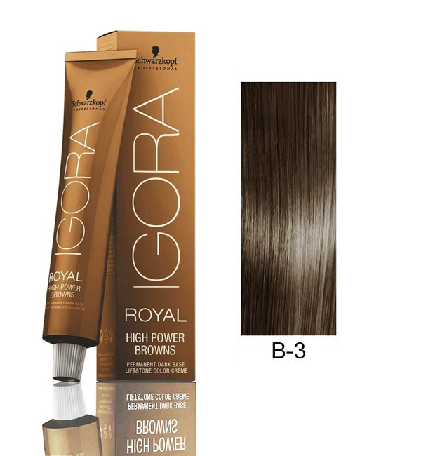 Schwarzkopf Professional Igora Royal High Power Browns 7702045550412