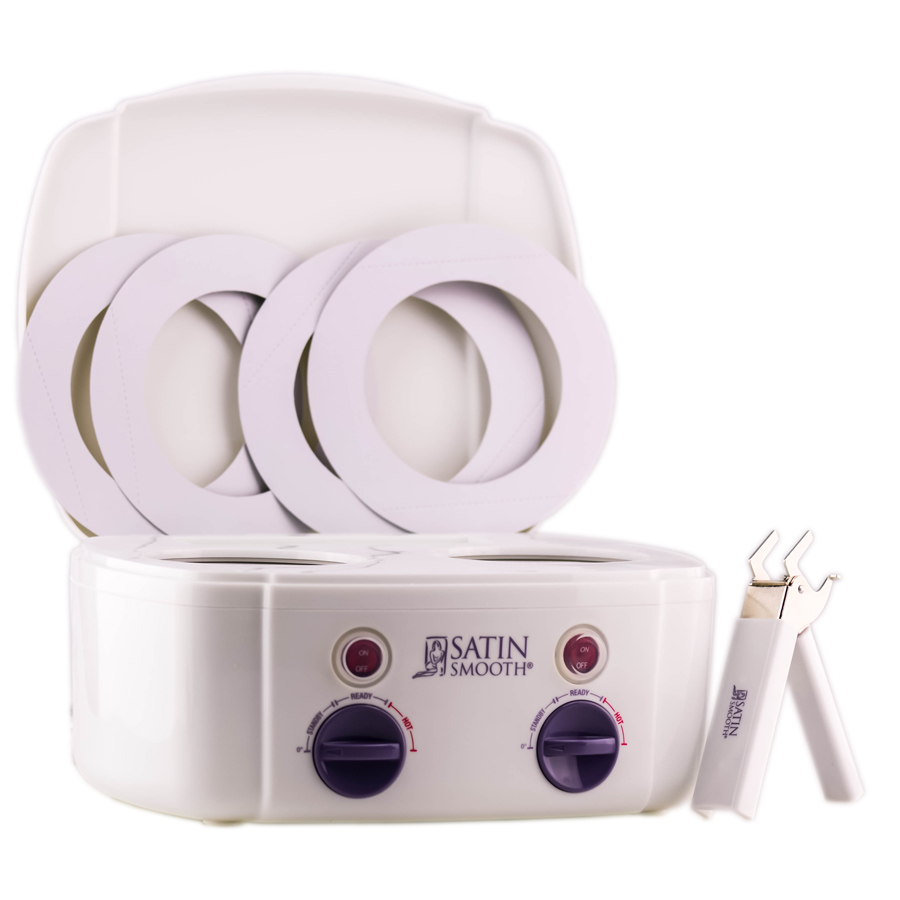 Satin Smooth Professional Double Wax Warmer 1 074108312532