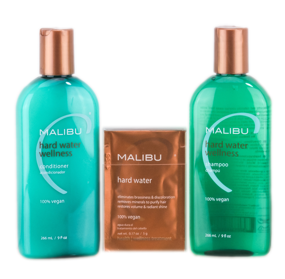 Malibu C Hard Water Wellness Treatments Kit 757088496125