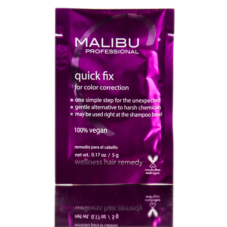Malibu C Quick Fix For Color Correction Wellness Hair Remedy 757088159600