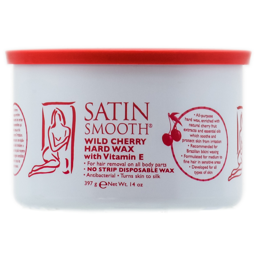 Satin Smooth Natural Pure and Simple Wax 074108279347