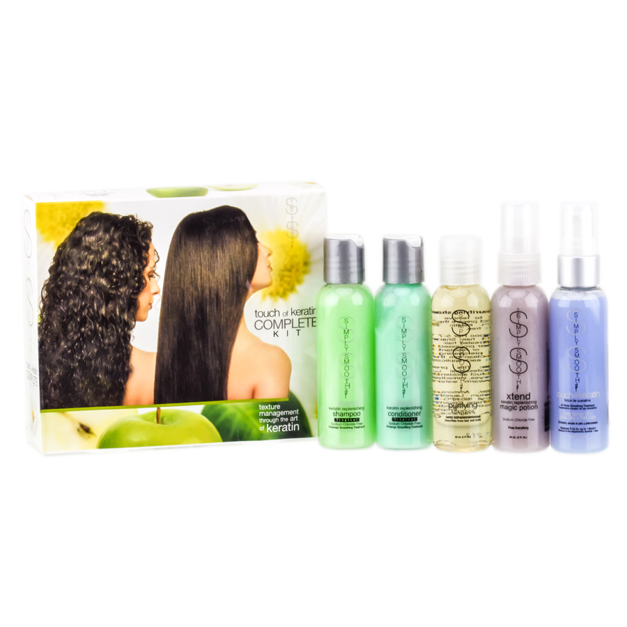 Simply Smooth Touch Of Keratin Complete Kit 851739003448