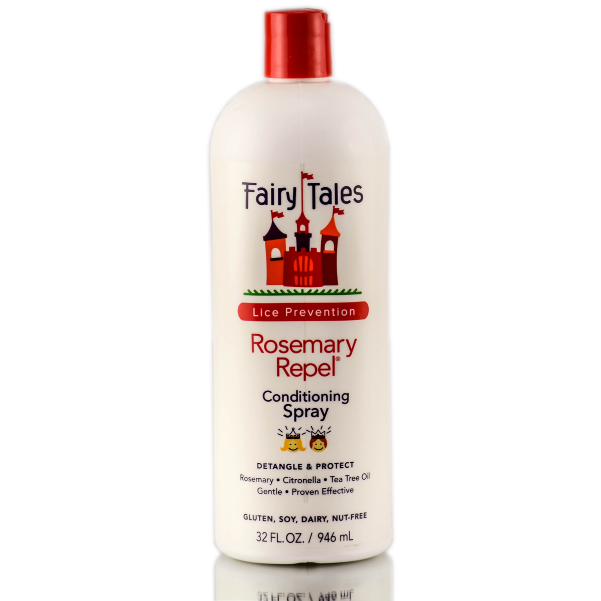 Fairy Tales Rosemary Repel Leave-in Conditioning Spray 812729002513
