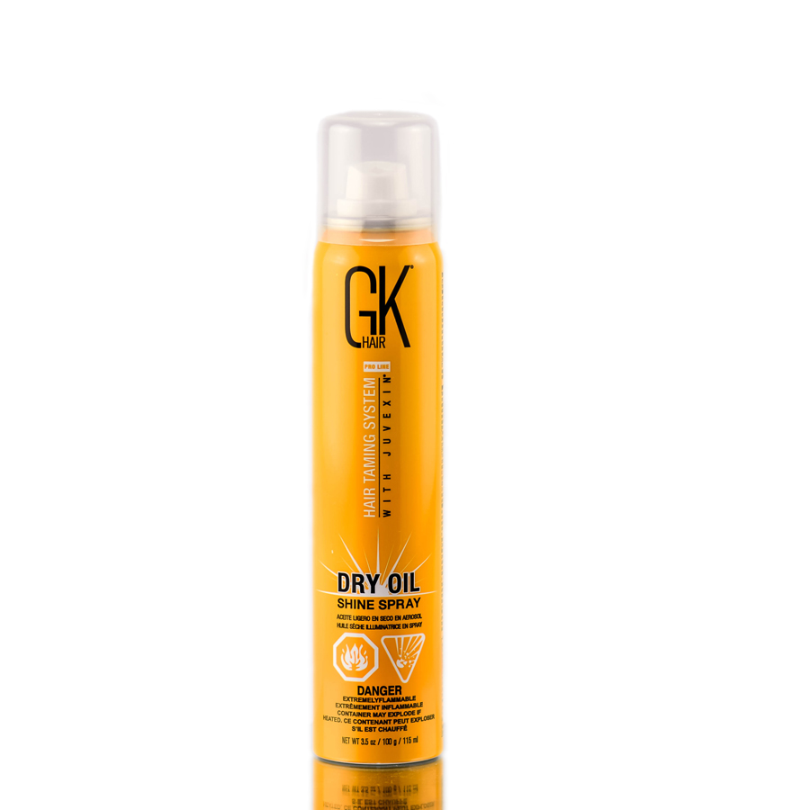 Global Keratin GK Hair Taming System Dry Oil Shine Spray 815401019038