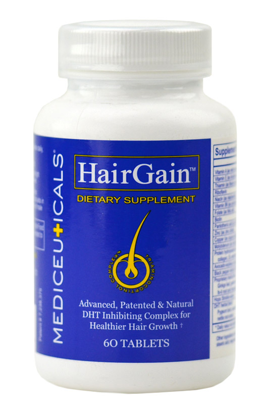 Therapro Mediceuticals Hair Gain Supplement for men & women 054355540049