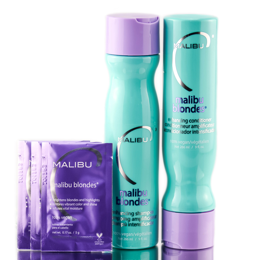 Malibu C Blondes Collection Kit 757088496163