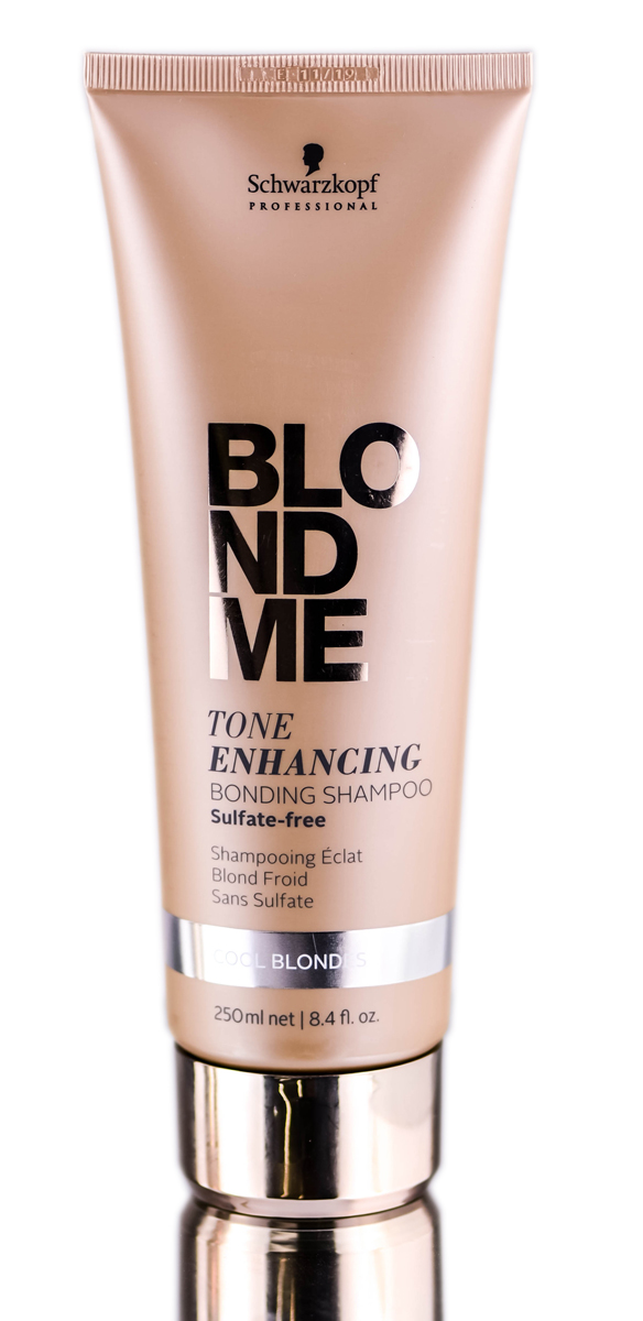 Schwarzkopf Pro BlondMe Tone Enhancing Cool Blonde Bonding Shampoo 4045787370041