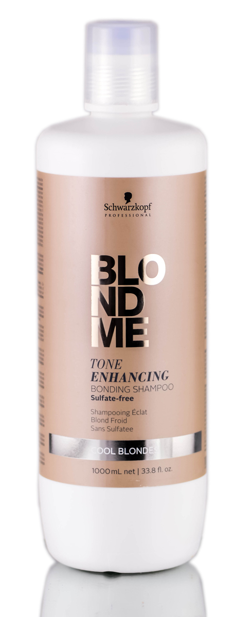 Schwarzkopf Pro BlondMe Tone Enhancing Cool Blonde Bonding Shampoo 4045787370072