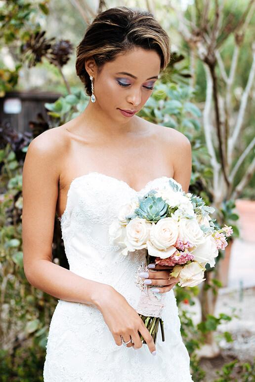 Felicity Bridal Look