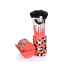 BH Cosmetics Leapord Brush Set