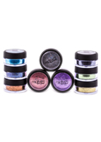 Motives Glitter Pots - Lagoon Blue