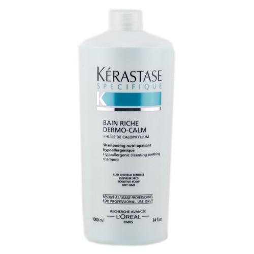 Kerastase specifique bain riche dermo calm hypoallergenic for Kerastase bain miroir shine revealing shampoo