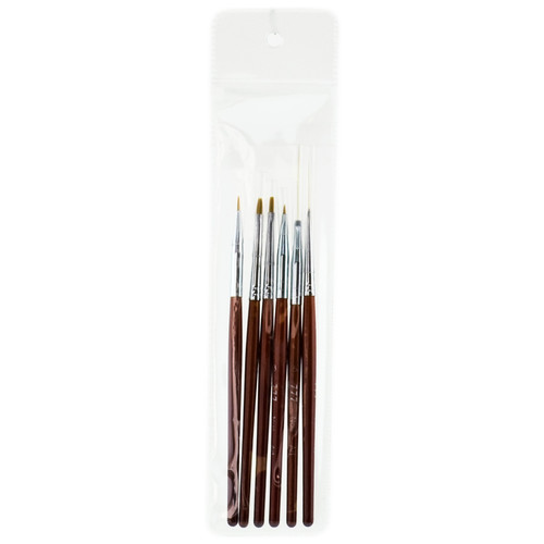 777 nail art design brush set formerly for Avon nail decoration brush