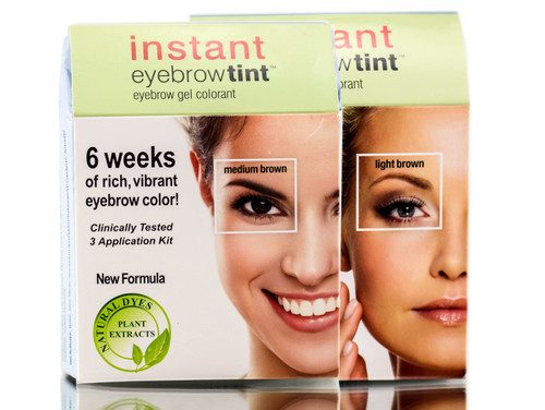 Godefroy Instant Eyebrow Tint 3 App Kit - Sleekhair.com