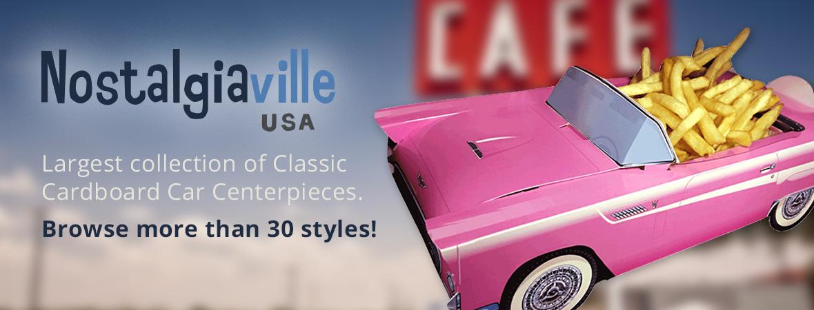 Nostalgiaville USA 1950s Party Supplies Clothes and Memorabilia