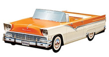 1956 Ford Fairlane Sunliner Foodbox