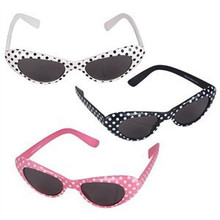 Cateye Glasses Polka Dot