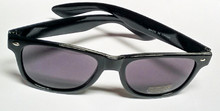 Blues Brothers reproduction sunglasses. Not the real thing!! BUT, they are great look-alikes and we sell a bunch of them. They are made to fit Adults & Teens and make great party favors, wedding party (bachelor parties), parades, picnics, Hollywood party, and many more great ideas. Group events, family reunions. We have the Cateye glasses for the ladies and girls but sometimes we sell these for groups of both cause everyone seems to like this look!!