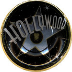Hollywood Party Plates 7""