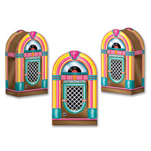 Jukebox Favor Boxes Party Decoration