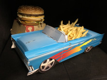 1950s Hot Rod Food Box Centerpieces