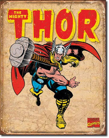Thor Retro Tin Sign