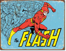 The Flash - Retro Tin Sign