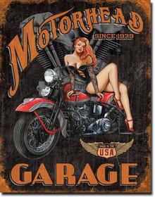 Legends - Motorhead Garage Tin Sign